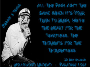 Hollywood Undead Johnny 3 Tears Quotes