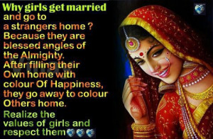 """... : """"Beautiful Girls quotes :Why girls get married"""" plus 1 more"""