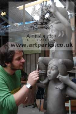 Sculptor Ben Greenwood Ba (hons)