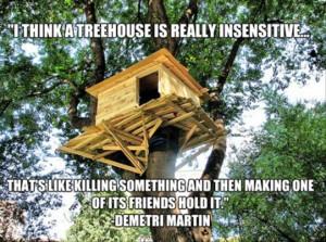 funny tree houses