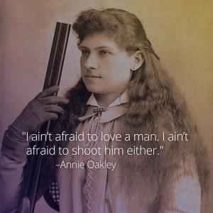 Annie Oakley, a/k/a Phoebe Ann Mosey