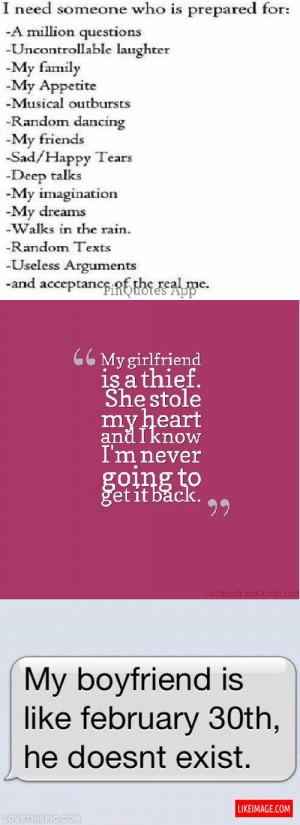 funny cute boyfriend quotes