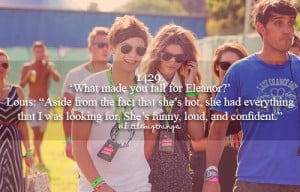 Louis and Eleanor - one-direction Photo