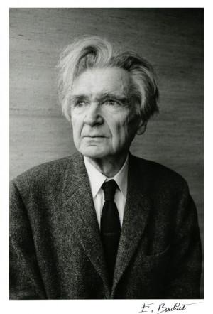 Emil Cioran, Paris, 1989 -by Édouard Boubat [+]More documents and ...