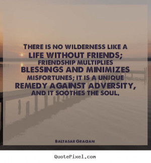 Like A Life Without Friends, Friendship Multiplies Blessings ...