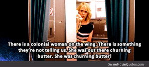 Funny quote from a scene in the 2011 movie Bridesmaids starring ...