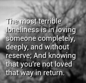 Very true. #sad #unrequited #love #quote