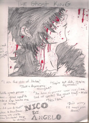 Nico Di Angelo Quotes The ghost king-- nico di