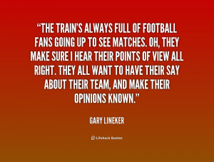 Quotes About Football Fans