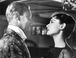 Still of Audrey Hepburn and William Holden in Sabrina (1954)