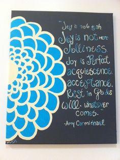 Amy Carmichael commission