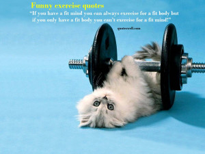 funny fitness quotes 5 Funny Fitness Quotes