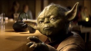... the best character from Star Wars! The force is strong with this one