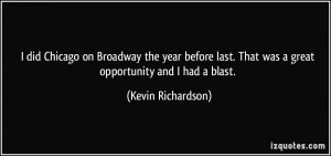 Kevin Richardson Quotes