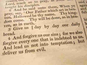The Lords Prayer Bible verses and lesson_7