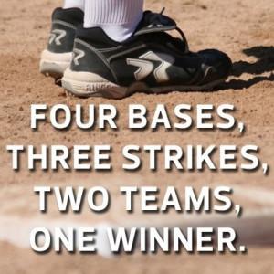 Four bases, three strikes, two teams, one winner. Softball Life ...
