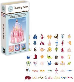 ... Cake Decorating - Birthday Cakes - Shapes Phrases and Font Cartridge