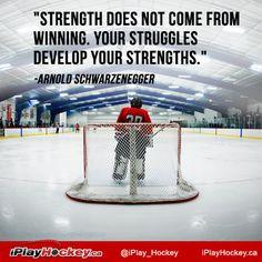 strength and struggles. #hockey More