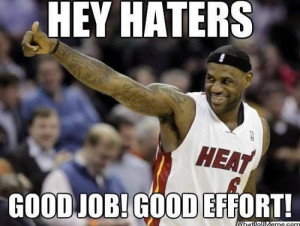 Re: Has the miami heat ruined the NBA for you?