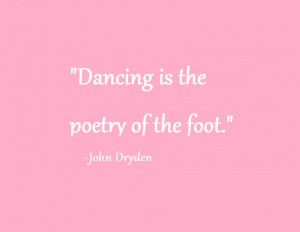 Dance quotes, Tiffany's Dance Academy