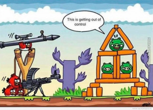 Angry Birds Funny Meme Favim