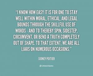 Sidney Poitier Quotes