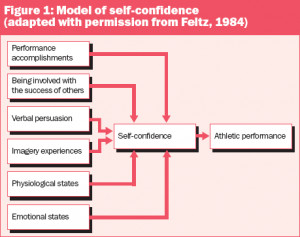 Figure 1: Model of self-confidence (adapted with permission from Feltz ...