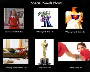 What Special Needs Moms Do All Day