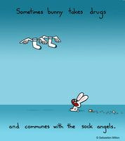 Crack Bunny Wishes You a Happy Birthday by *sebreg on deviantART