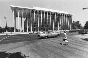 ... by Minoru Yamasaki, the architect who desinged The World Trade Center