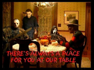 Horror Movies A Freaky Dinner Party!