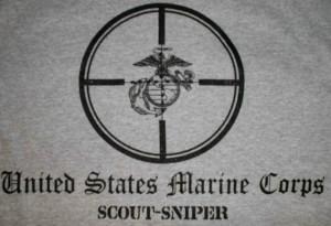 marine scout sniper logo