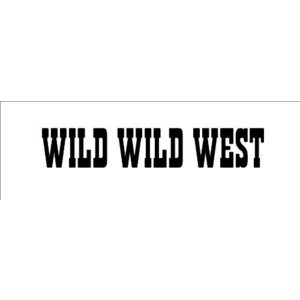 CANDY\ SIGNS Wild Wild West....Cowboy Western Wall Quote Words Sayings ...