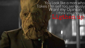 Scarecrow Quote 1 by kool001ify