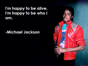 Re: Famous Michael Jackson Quotes
