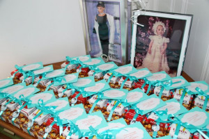 Party Favors inspired by Breakfast at Tiffany's: Cracker Jacks, Candy ...