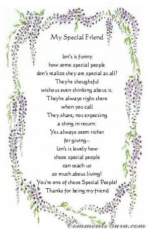 veryone needs a true friend - these friends are very special one's ...