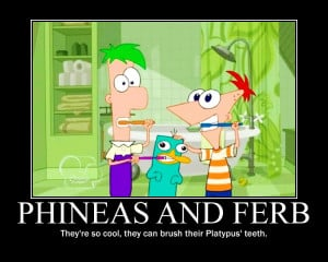 Candice Cartoon Cute Funny Love Phineas And Ferb Text