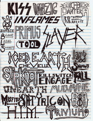 Another Old Band Collage by Thrashmetalhead9 on deviantART