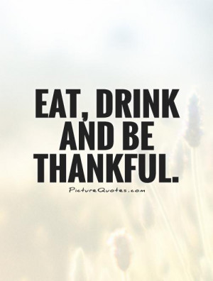 Be Thankful Quotes and Sayings