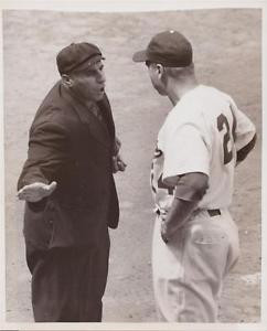Walt Alston 1955 UP News Wire Photograph Photo Brooklyn Dodgers