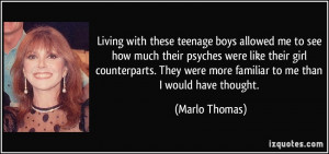 Teenage Girl Quotes About Boys Living with these teenage boys