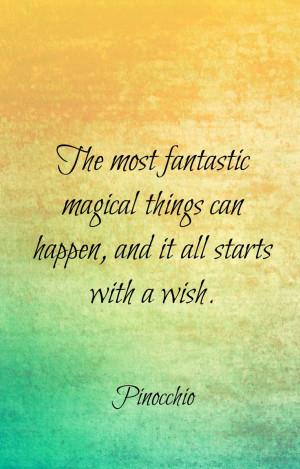 Pinocchio Quotes, Disney Wisdom ️☀️
