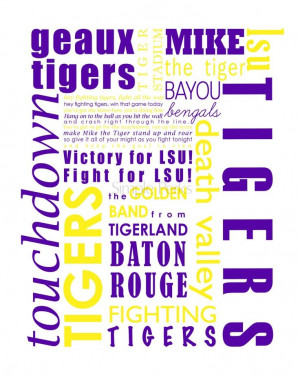 LSU #football #SouthernSayings #Quotes #Country #SouthernBell # ...