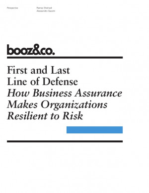 PerspectiveFirst and LastLine of DefenseHow Business AssuranceMakes ...