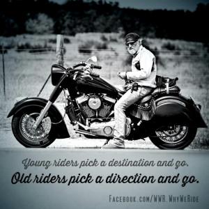 Bikers..words of wisdom..;)