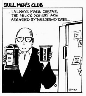 Office Fridge Cleaning Cartoons