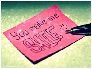 """You Make Me Smile """""""