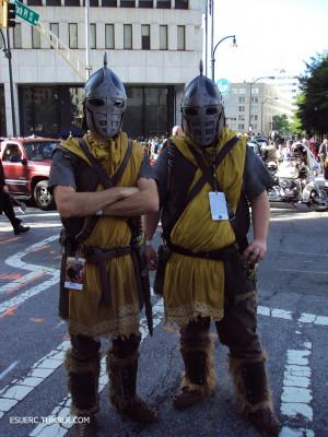 Skyrim elder scrolls dragon*con esuerc Dragon*Con 2012