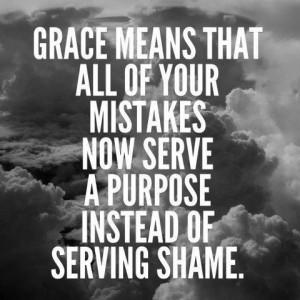 God's grace is AMAZING